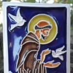 Tile of St. Francis of Assisi that I bought IN Assisi. :-) (Reposted!)