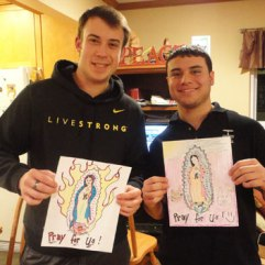 These two, my brother Josh and friend Ryan, contributed their own art to the project.
