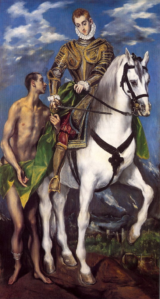 St. Martin of Tours, a painting by El Greco.