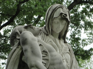 Pieta. Snapped this in May.