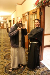 Fr. Pio and Br. Thomas. source