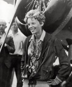 Amelia Airhart.
