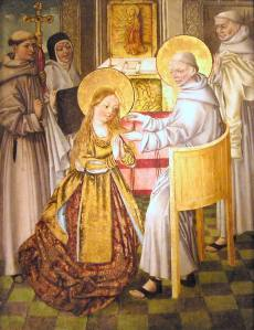 St. Clare of Assisi.