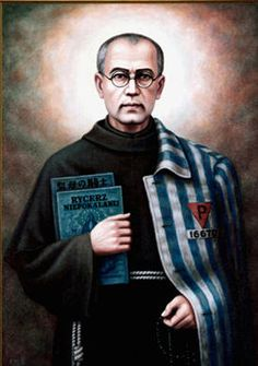 There are no relics of St. Maximilian Kolbe, except for a few strands from his beard, trimmed by a friend before he was taken away by the S.S. guard.
