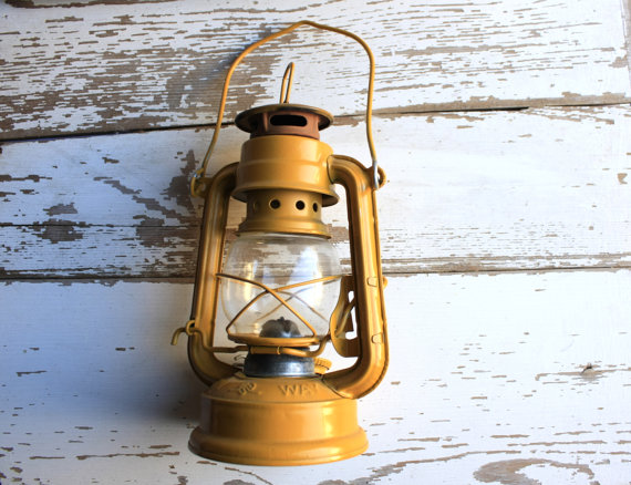 You may buy this lantern no longer. But, it is mustard yellow.