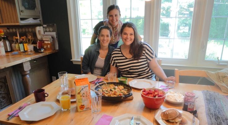Beth, Christine, Anne.