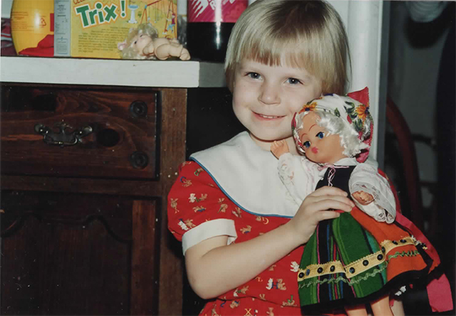 Throwback!! This was, according to the photo album, my 4th birthday which was also, by the way, my golden birthday. Best birthday ever, that's my favorite dress! Red and teddy bears and the alphabet FOR THE WIN.
