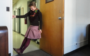 What I Wore Wednesday: those same maroon tights:)