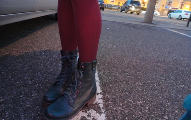 I got the boots.