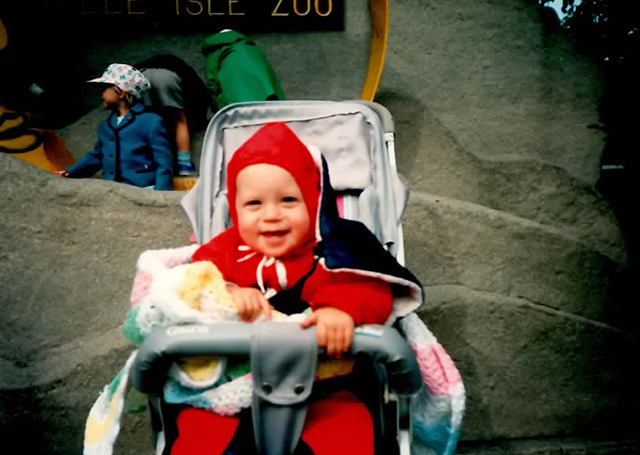 The happiest baby. For real, though. Baby Josh at Belle Isle like a TRUE HIPSTER BABY.