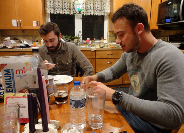 Joe and Josh, same kitchen.