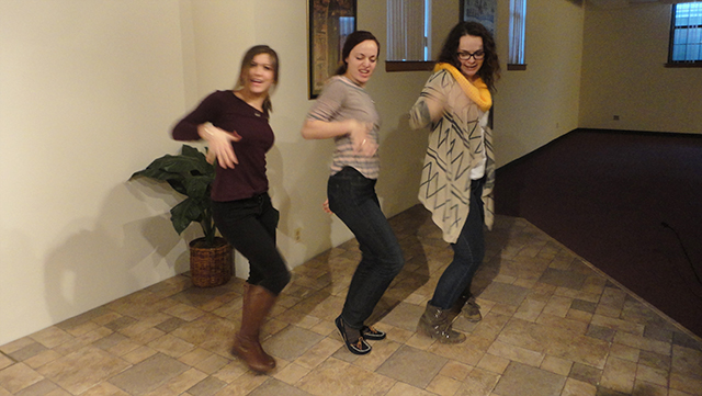 Oh, and our skit had doo-wop girls. And a fight scene. And spoken word. Clearly: awesome, right?