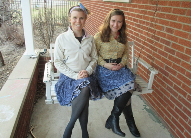 Oh, yes! And matching bug-skirts. :) Happy Easter!  NOW CELEBRATE FOR THE FULL OCTAVE OR ELSE.