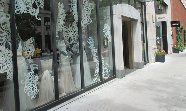 Oh, and I went a little bit of shopping. This place sells party dresses and also wedding dresses. If you're getting married: YOUR WELCOME. Their stuff is rill nice. I checked the fiber and the construction for ya. BHLDN, yo. I tried on two party dresses, but no dice, mate.