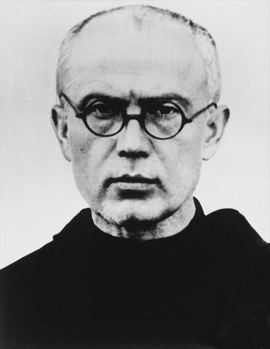 St. Maximilian Kolbe. The time you spend learning about this man will not be wasted.