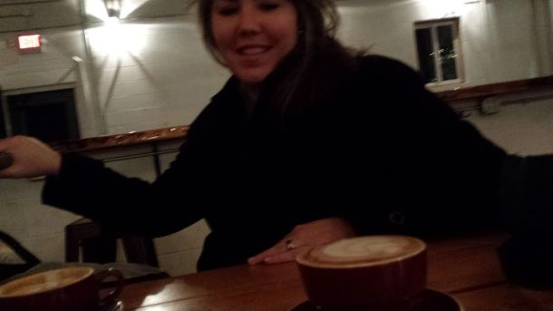 Coffee is her love-language.