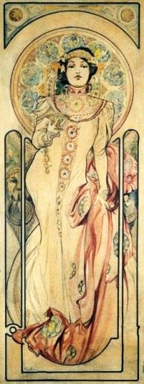 Alfons Mucha [Public domain], via Wikimedia Commons