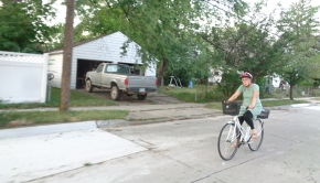 Biking these streets