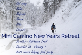 MINI CAMINO NEW YEARS INFO